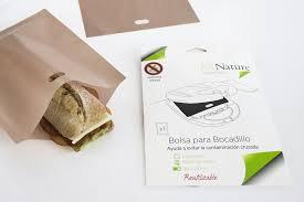 Bolsa Bocadillo Kit Nature 20x25cm