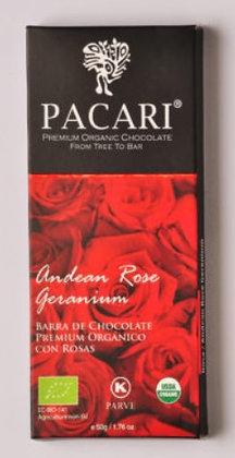 Chocolate Rosa Andina Eco de  Pacari 50gr.