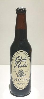 Cerveza Porter Ocho Reales 33cl.