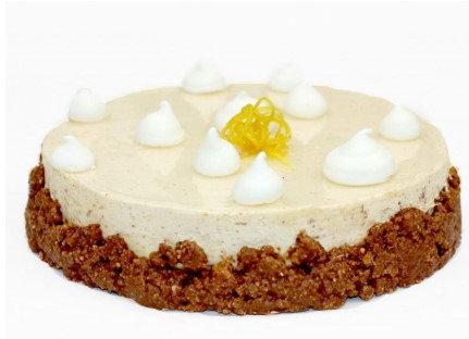 Pastel Turrón y Limón 9 porciones