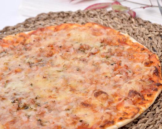 Pizza de Jamón y Queso Sin Lactosa Alatria
