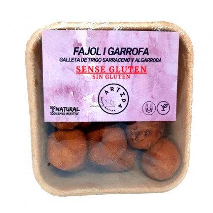 Galletas de Trigo Sarraceno y Algarroba Artipa 150gr.