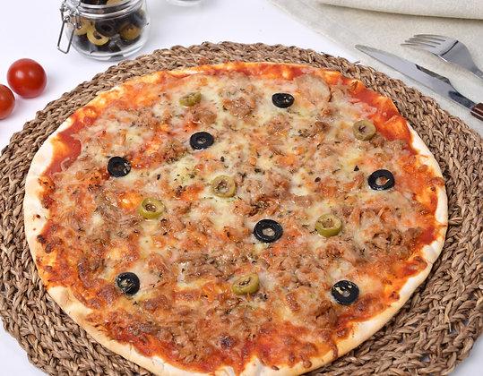 Pizza de Atún y Olivas Sin Lactosa Alatria