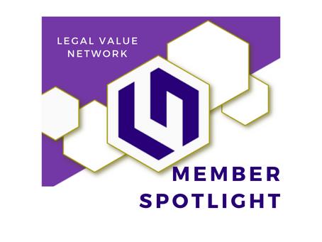 Legal Value Network Member Spotlight - Roycee Hasuko