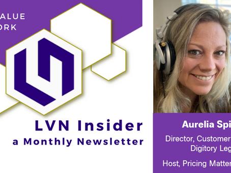 Legal Value Network Member Spotlight - Aurelia Spivey