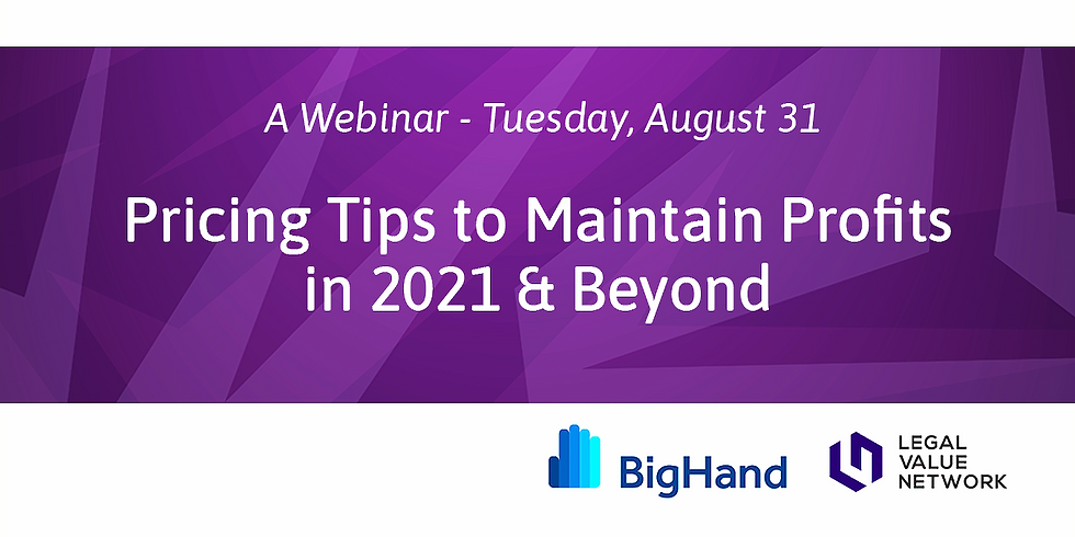 Pricing Tips to Maintain Profits in 2021 & Beyond