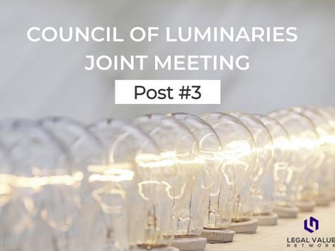 3.30.2021: Council of Luminaries Joint Meeting