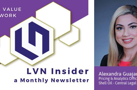 Legal Value Network Member Spotlight – Alexandra Guajardo
