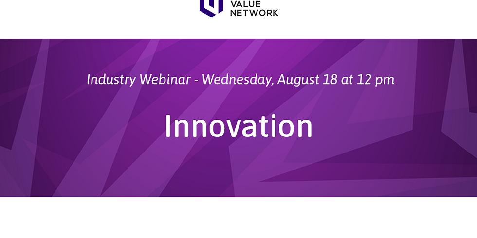 August 2021 - Innovation Webinar