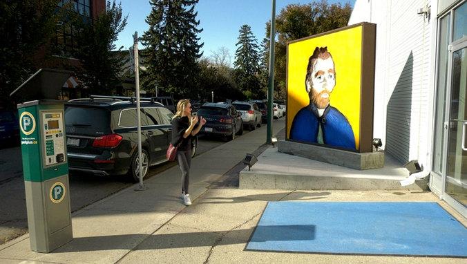Van Gogh Observes - Calgary