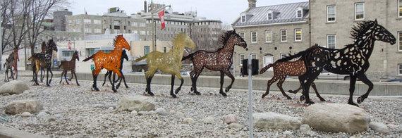Running Horses - Ottawa