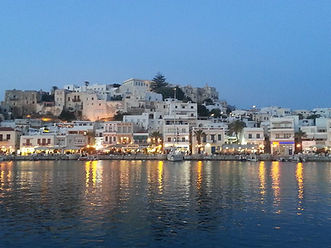 Cyclades Sailing - View of Naxos