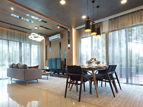 dining & living area by arvodesign