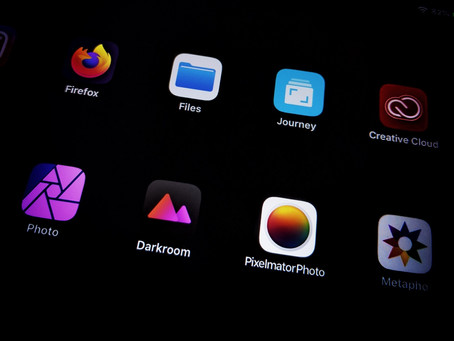 iPad workflow for Photographers : Import & Backups