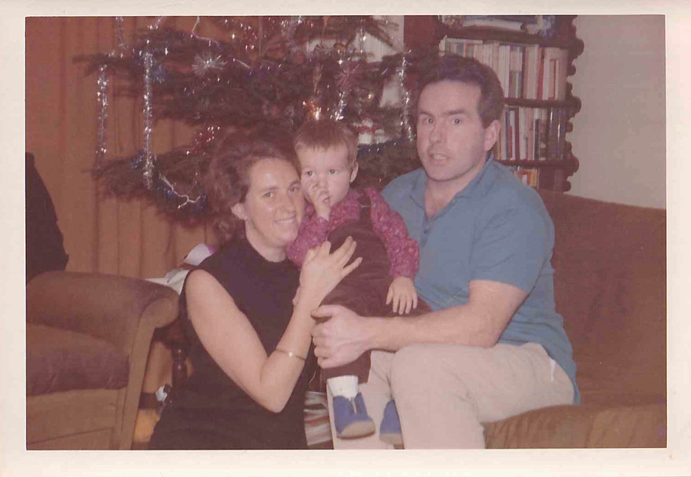 Family portrait, Christmas 1973