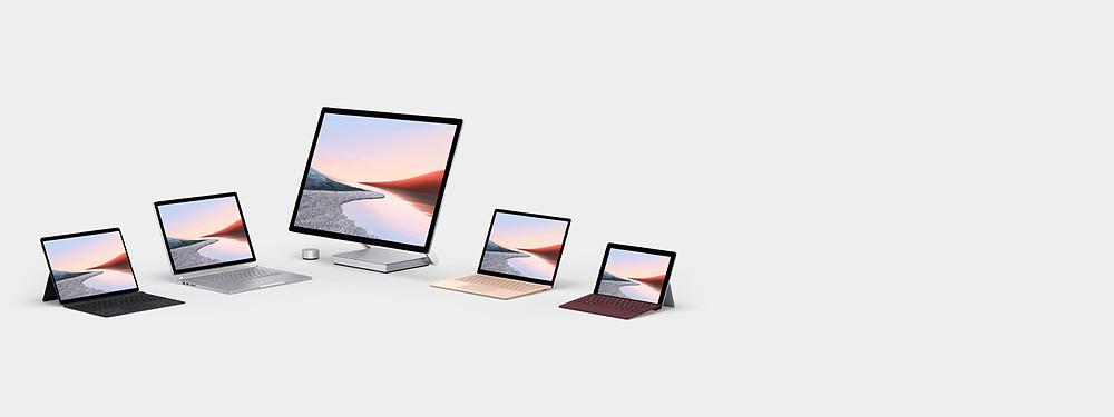 Microsoft Surface range