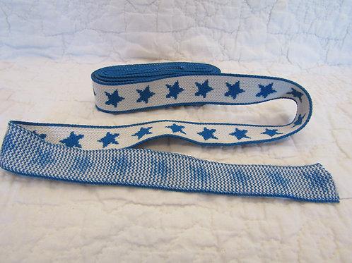 Vintage Polyester Juvenile Trim with Stars 2 yards