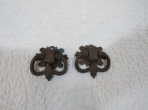 Lot of 2 Vintage Mid Century Pulls