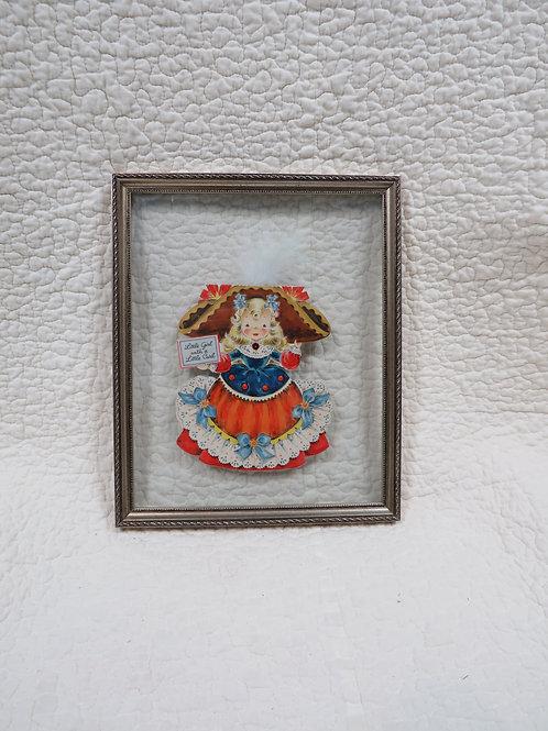Valentine Wall Decor Framed Vintage