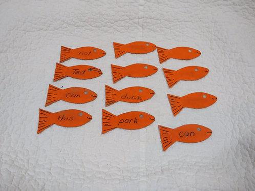 Fish Flashcards Vintage