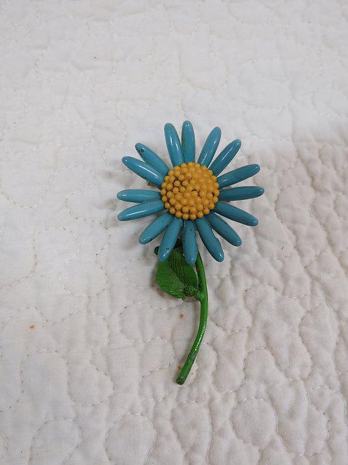 Flower Brooch Vintage Item