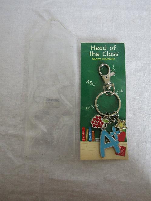 Teacher Charm Keychain  nos