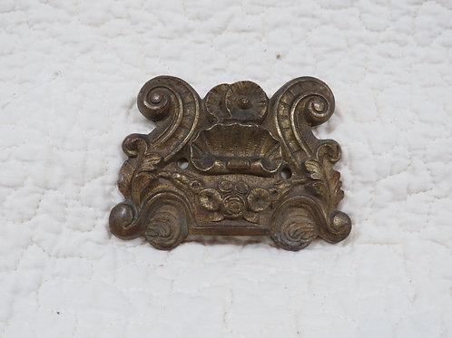 Brass Molding Ornate Piece Vintage