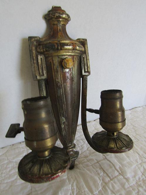 Antique Light Brass or Bronze Marked Arrow Not Perfect