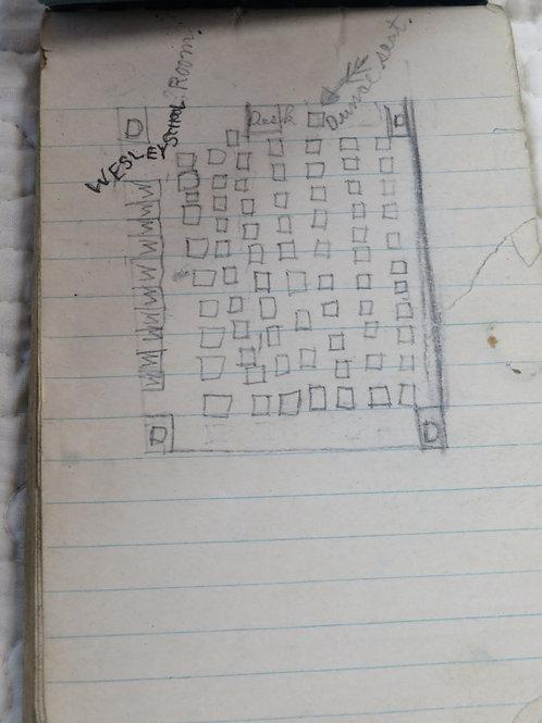 Note Book Viking School Series Vintage