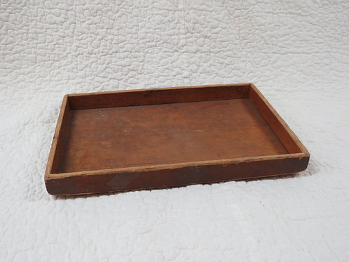 Wood Storage Tray Vintage from Jewelry Mill