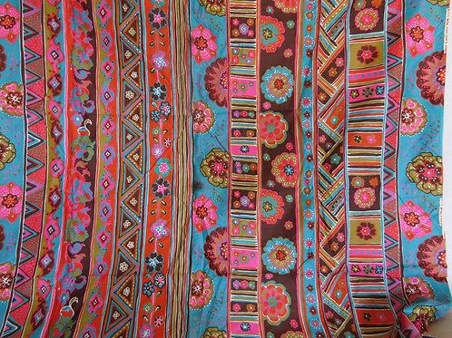 "Cotton fabric 1 3/4 yards x 43"" Vintage"