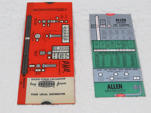 2 Slide Socket pocket tools Vintage items