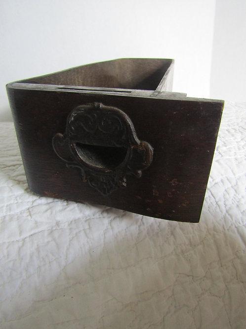 Vintage Wood Sewing Machine Drawer Great for Storage