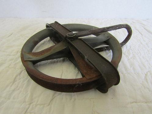Vintage Clothesline pulley Metal