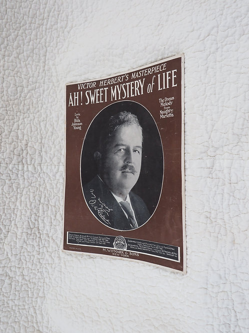 1910 Sheet Music Victor Herbert Antique