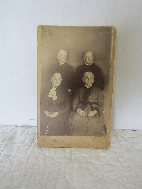 Vintage Instant Ancestors Photograph Turn of the Century Older Woman