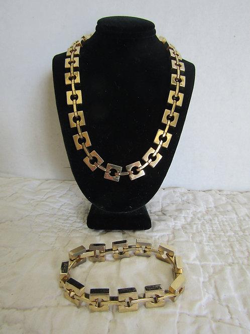 Necklace and Bracelet set Vintage