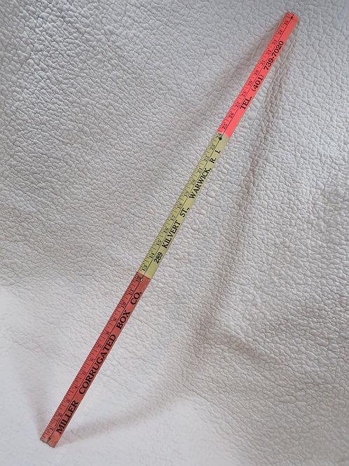 """Folding Ruler 36"""" Vintage"""