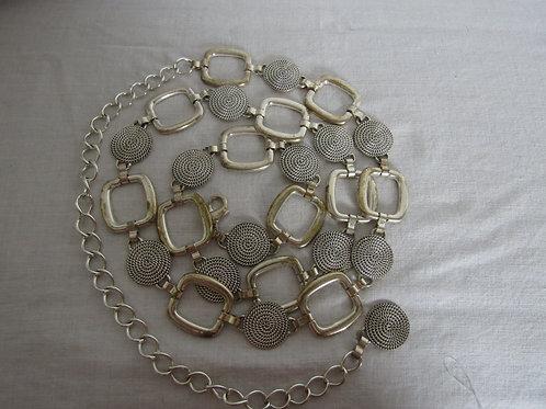 Metal Chain Belt Vintage