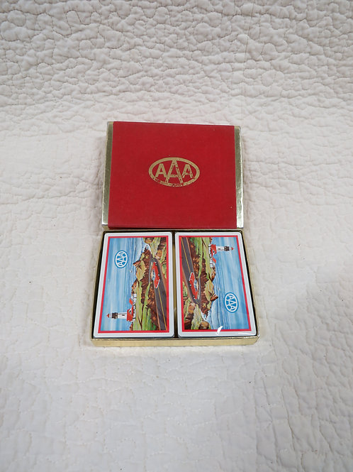 Playing Cards nos AAA Auto boxed Vintage