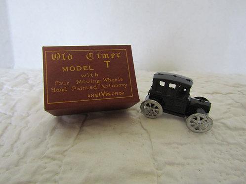 Vintage Miniature Model T Old Timer model 952 Made in Japan Moving Parts NOS