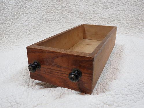 Wood Storage Drawer Vintage