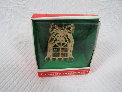Brass Christmas Ornament nos Vintage