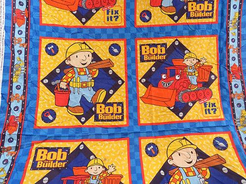 Bob the Builder Cotton Panel Vintage 2002