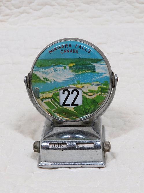 Perpetual Calendar Niagara Falls Vintage