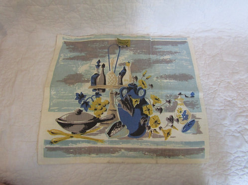 Vintage Linen Hardy Craft NOS Towel