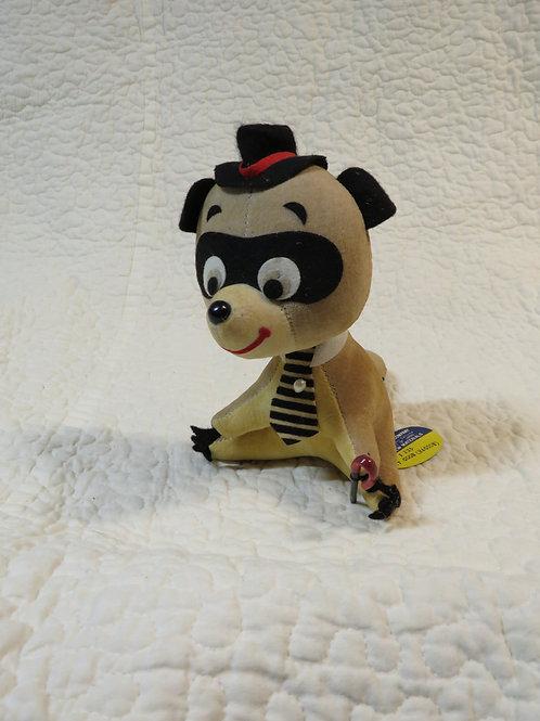 Raccoon Stuffed Toy Vintage NOS
