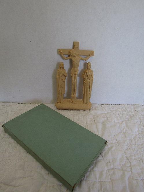 Cross Religious Wall Decor NOS Vintage