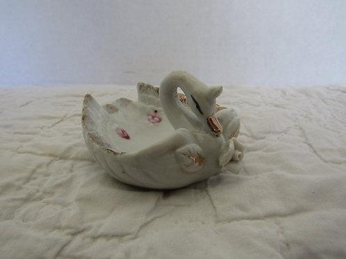 Ceramic NOS Swan Ashtray
