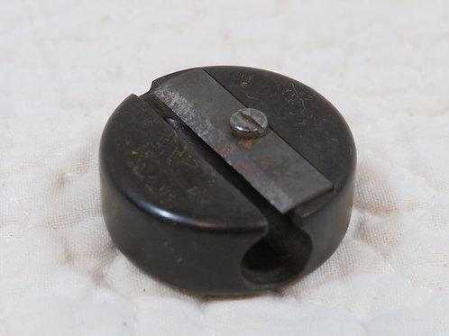 Bakelite round pencil sharpener Vintage